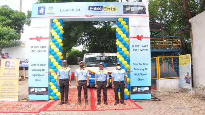 India Tv - M Fuel Kart, diesel doorstep delivery in Delhi-NCR, BPCL, fuel delivery, fuel doorstep delivery, pe