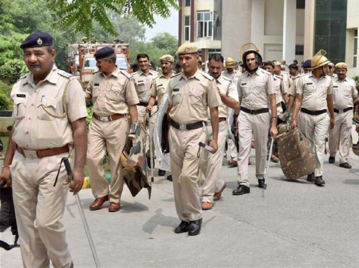 up cops suspended