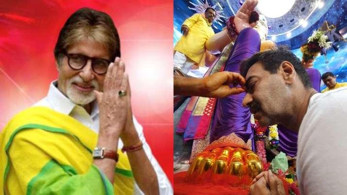 Happy Ganesh Chaturthi 2021: Amitabh Bachchan, Ajay Devgn