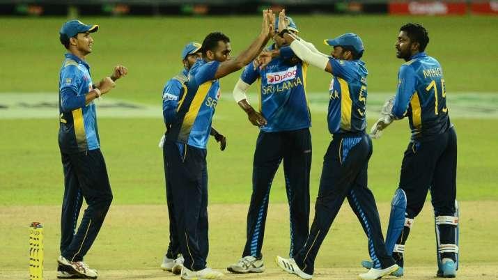 इंडिया टीवी - श्रीलंका क्रिकेट टीम।