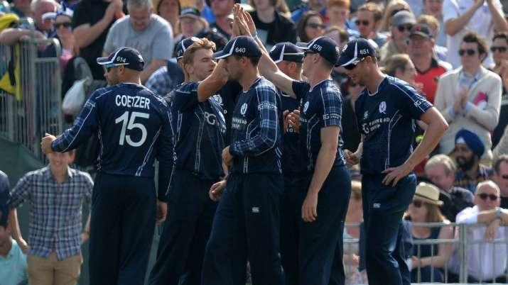 इंडिया टीवी - स्कॉटलैंड क्रिकेट टीम