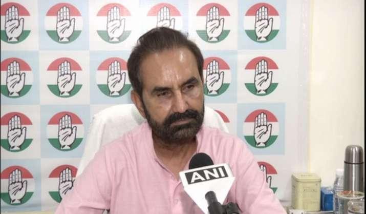 Congress takes dig at BJP over Vijay Rupani's resignation: