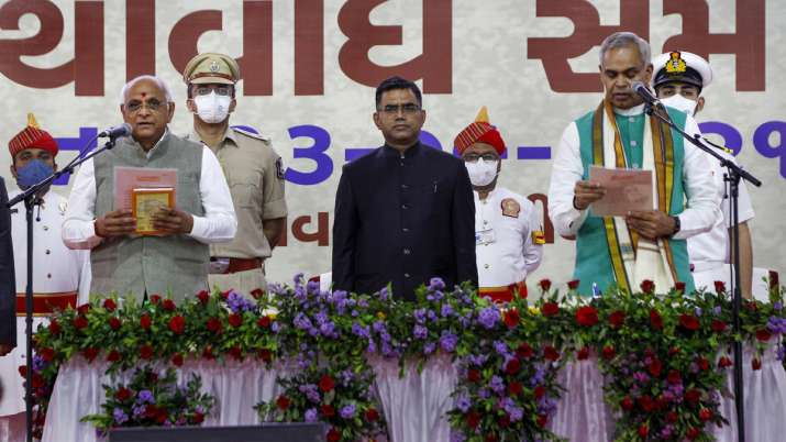 Bhupendra Patel oath