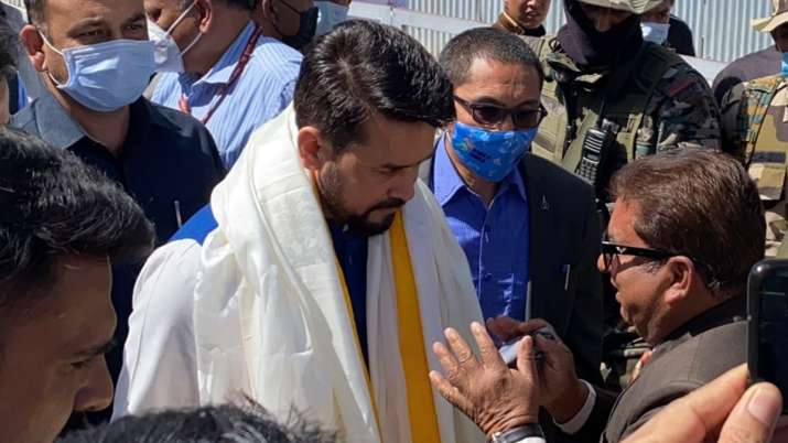 First-ever Himalayan Film Festival inaugurated by Union Minister Anurag Thakur in Ladakh