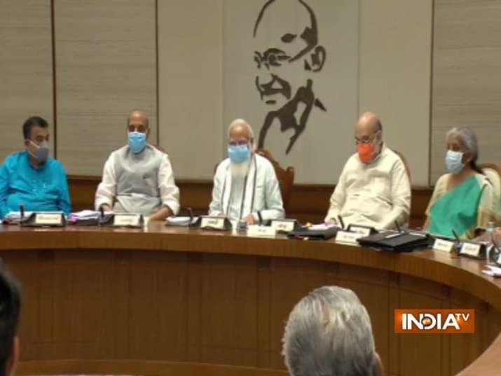 PM Modi, modi marathon meeting, modi council of ministers meeting, council of ministers pm modi, pm