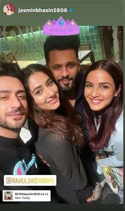 India Tv - Rahul Vaidya, Jasmin Bhasin, Disha Parmar