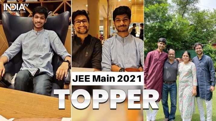 JEE Main 2021 topper