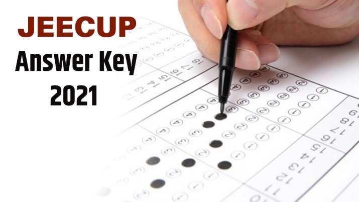 JEECUP 2021 answer key