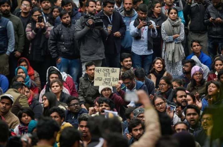 JNU VC says probe into last year's violence on campus