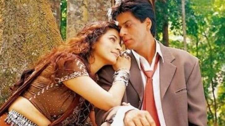 Juhi Chawla and Shah Rukh Khan