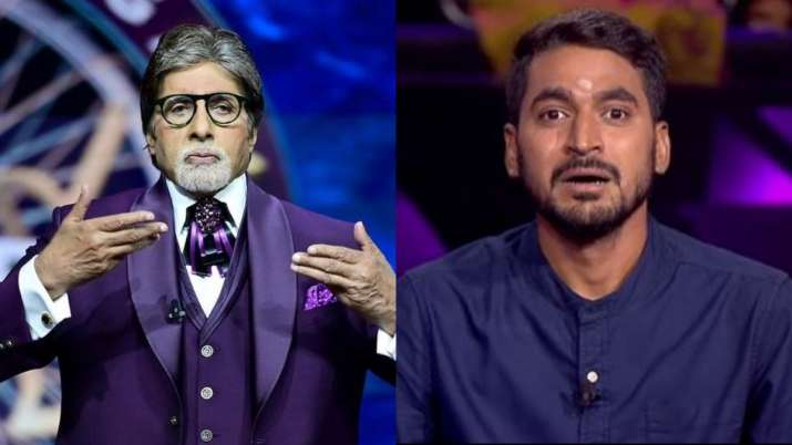 Amitabh Bachchan asks a contestant to chose between girlfriend & Rohit
