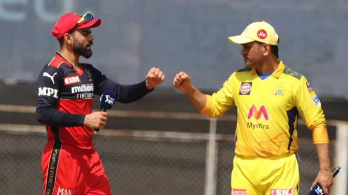 Kohli's RCB vs Dhoni's CSK Live Streaming IPL 2021, When and where to watch Today IPL Match LIVE Onl