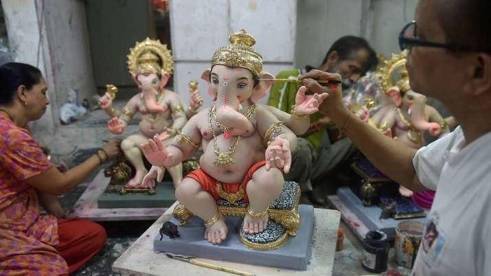 lord ganesha, ganesha idols, idols immersed, fifth day, Ganpati festival, Mumbai, latest national ne