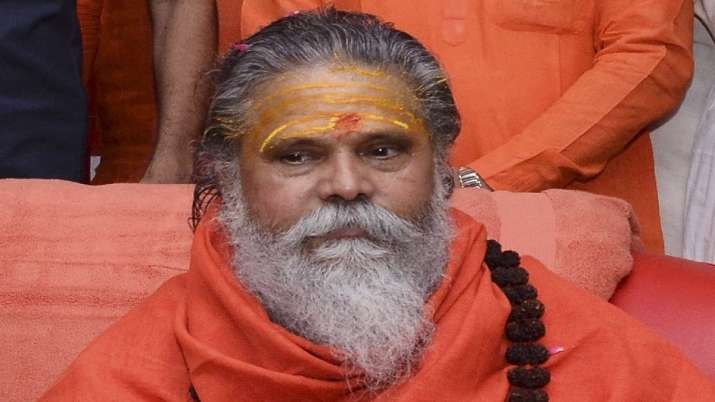 Mahant Narendra Giri was found dead at his Baghambari Math