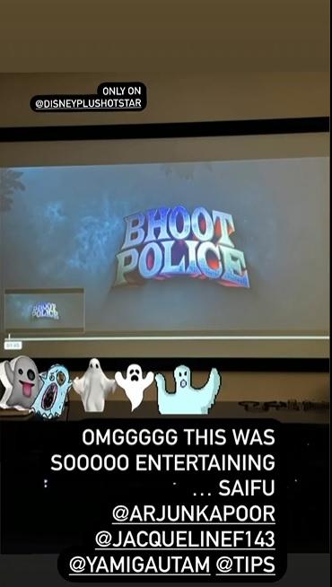 India Tv - Bhoot Police: Malaika Arora reviews Arjun Kapoor & Saif Ali Khan starrer, here's what she has to say