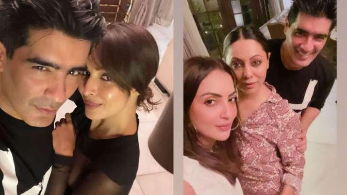 Malaika Arora, Gauri Khan, Ananya Panday join Manish Malhotra for intimate bash, see party pics here