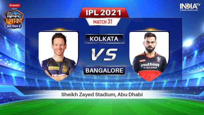 IPL 2021 KKR vs RCB Live Streaming: Find full details on when and where to watch Kolkata Knight Ride