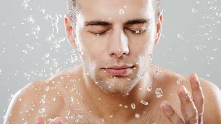 Skincare tips for men for clear skin. Take notes!