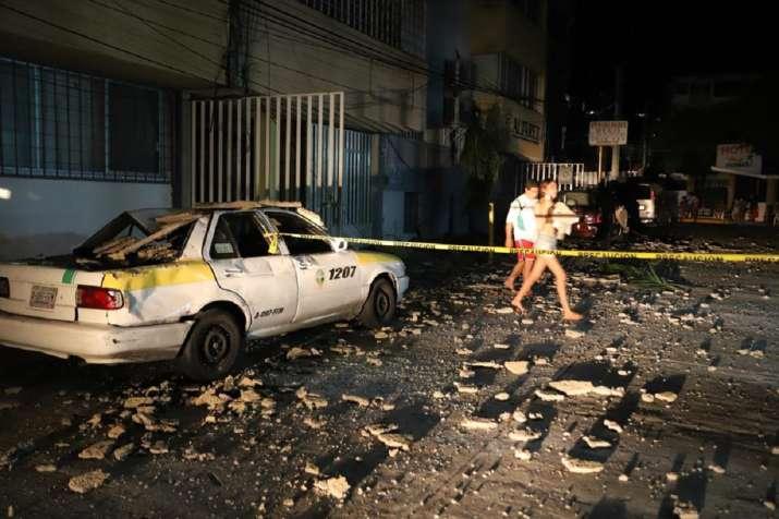 Powerful earthquake near Mexico's Acapulco kills at least