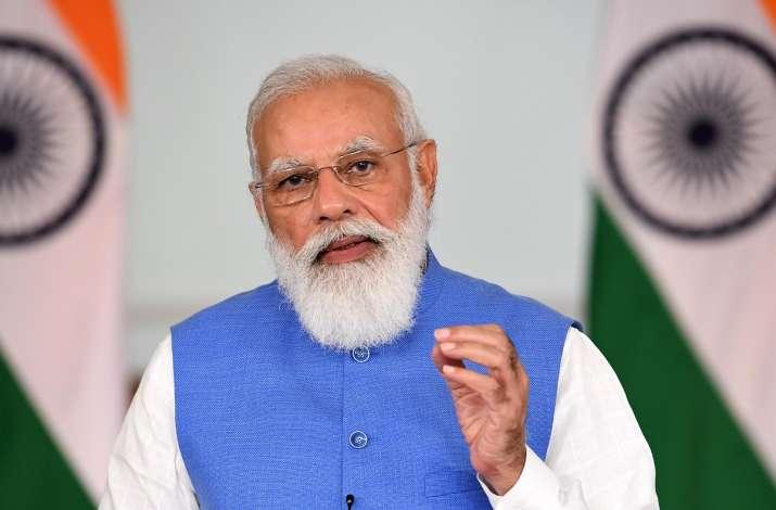 modi, aligarh, raja mahendra pratap singh university, yogi adityanath