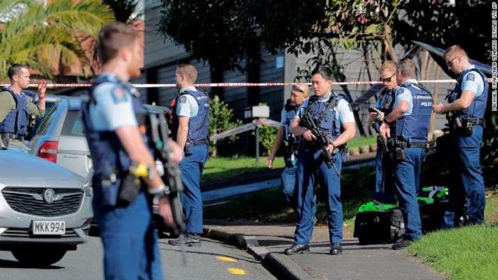 New Zealand, New Zealand police, police killing, terrorist, terrorist stabs six people, latest inter