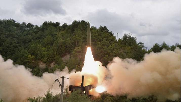 United States condemns North Korea missile launches, calls for dialogue