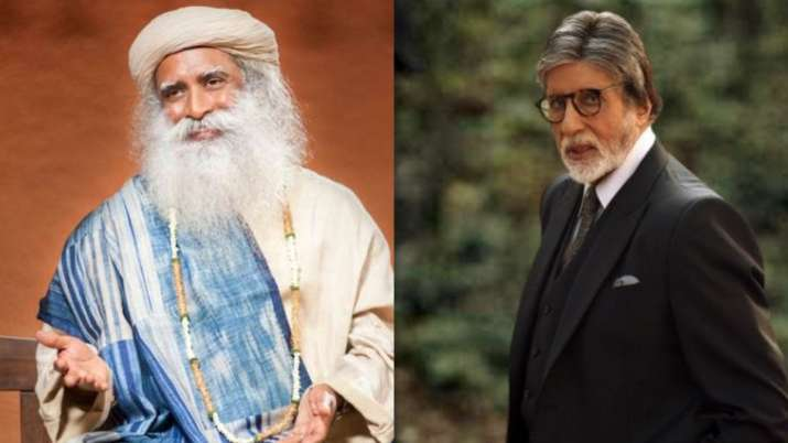 Amitabh Bachchan, Anil Kapoor, Sadhguru
