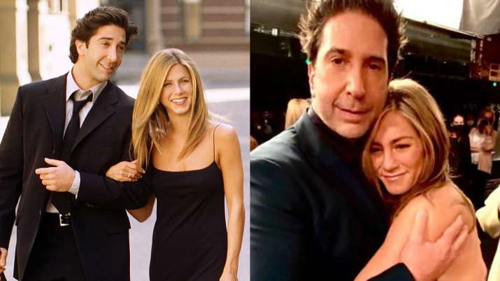 Jennifer Aniston addresses dating rumours with Friends co-star David Schwimmer as 'bizarre'