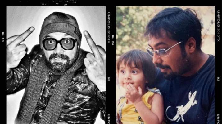 On Anurag Kashyap's birthday daughter Aaliyah shares endearing post for her 'coolest old man'