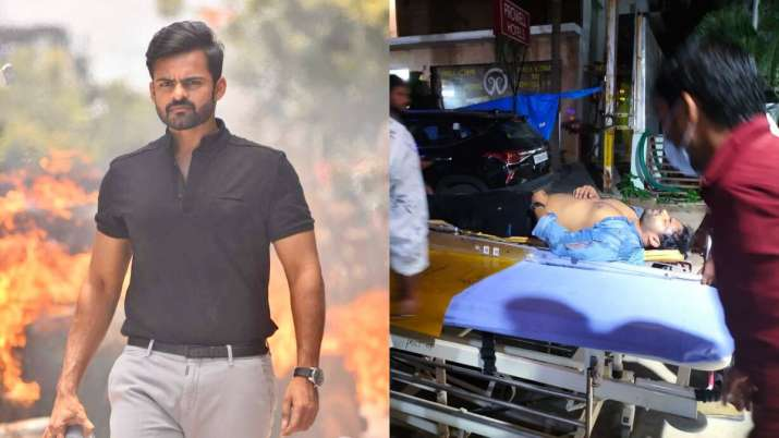 Tollywood actor Sai Dharam Tej injured in road accident, condition stable |  Celebrities News – India TV