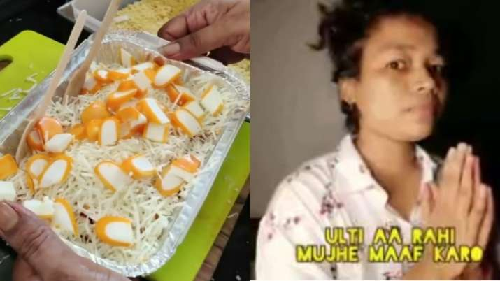 Bizarre mango ice cream chaat loaded with cheese leaves netizens feeling awful