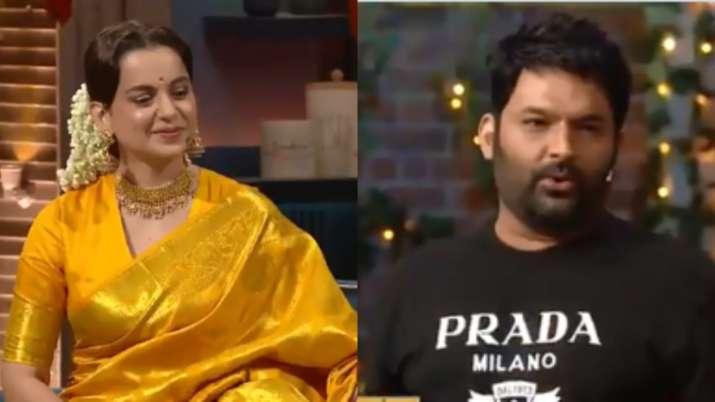 TKSS: Kapil Sharma asks Kangana Ranaut 'kaisa lag raha hai, koi controversy nahi hui' Here's how she reacted