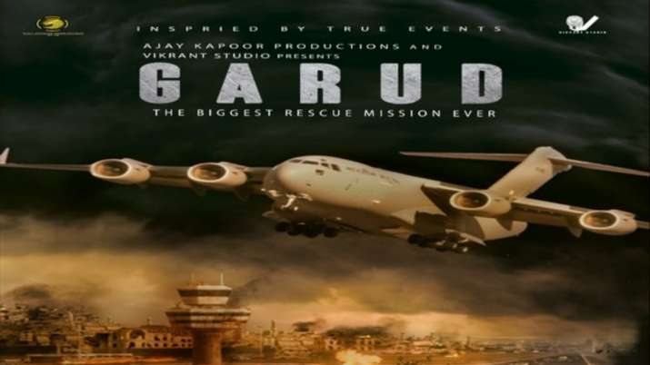 Film on Afghan rescue crisis titled 'Garud' announced