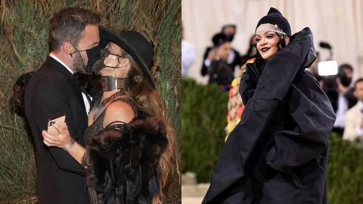 Met Gala 2021 Highlights: JLo-Ben Affleck kiss at red carpet, Rihanna stuns in structural overcoat