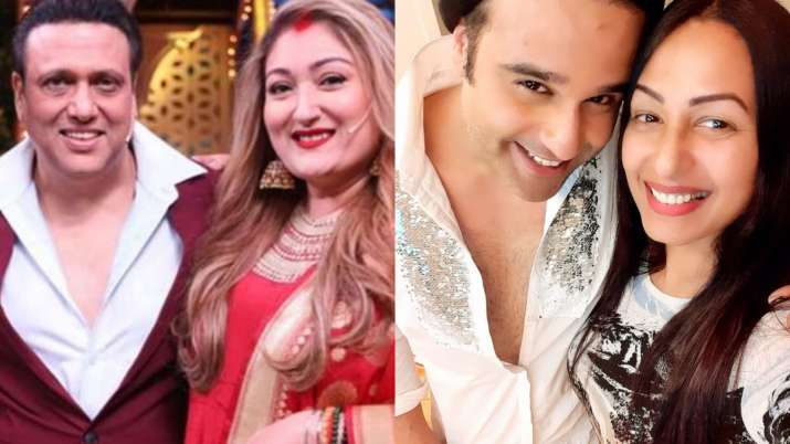 Kashmera Shah reacts to Govinda's wife Sunita Ahuja's comment on Krushna: 'I'm not known as someone's wife'