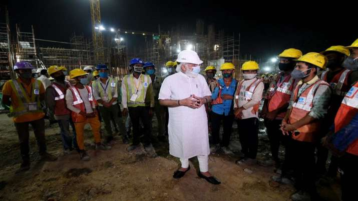 India Tv - PM Modi, new Parliament building