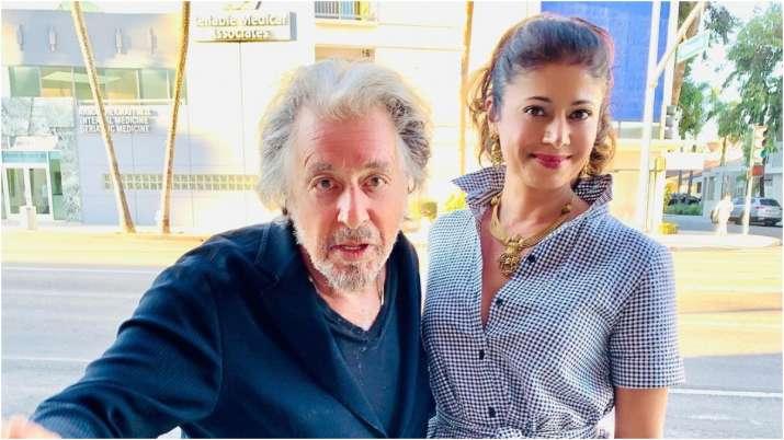 Pooja Batra shares pictures with Al Pacino, calls him legend