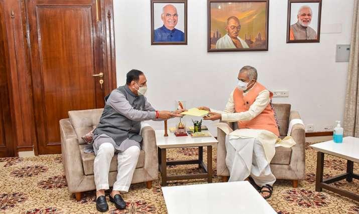 Vijay Rupani resignation, Gujarat Chief Minister