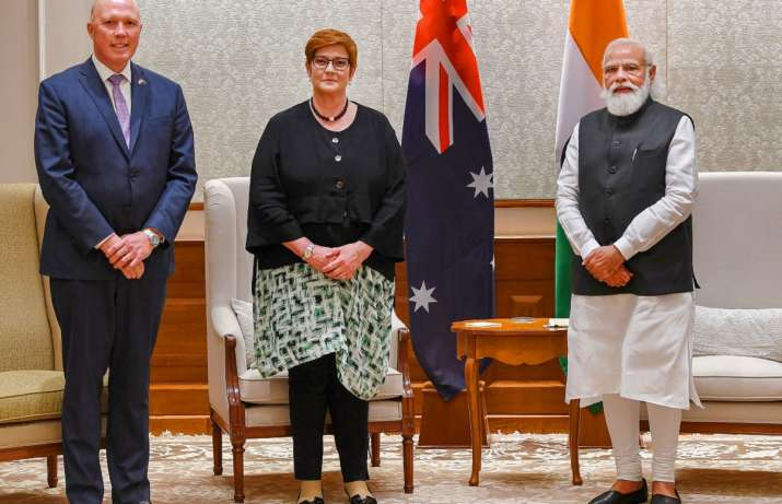 india australia talks