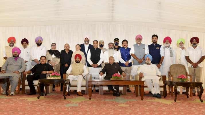 Chandigarh: Punjab's new Chief Minister Charanjit Singh