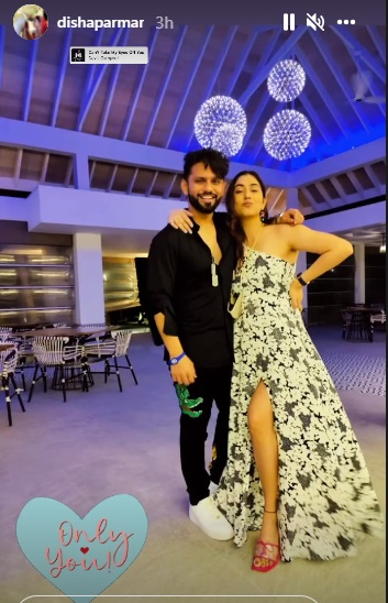 India Tv - Rahul and Disha