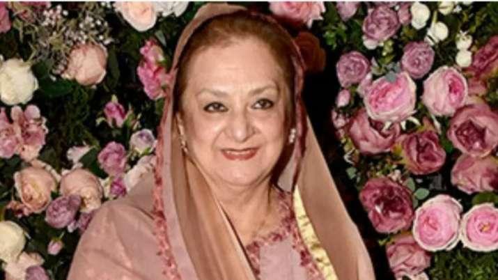 Veteran actress Saira Banu hospitalised, shifted to ICU
