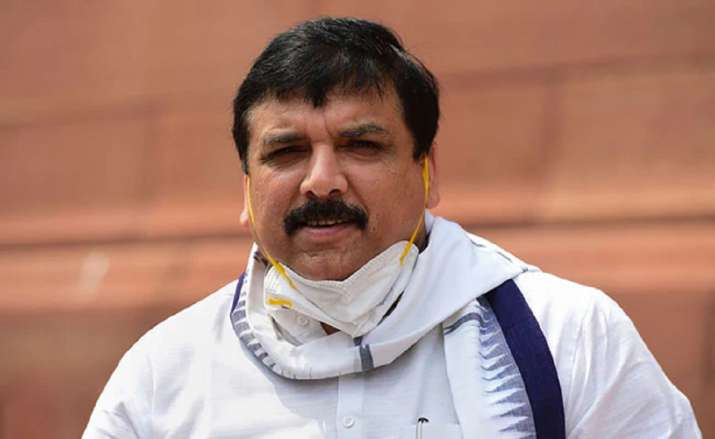 AAP MP Sanjay Singh Country under an undeclared emergency