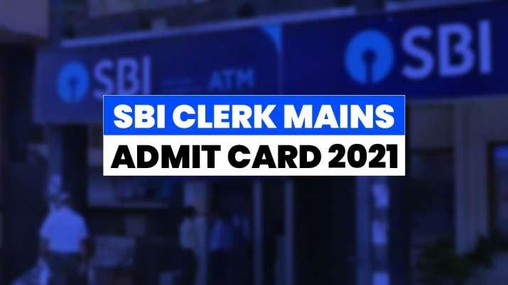 SBI Clerk Mains exam 2021