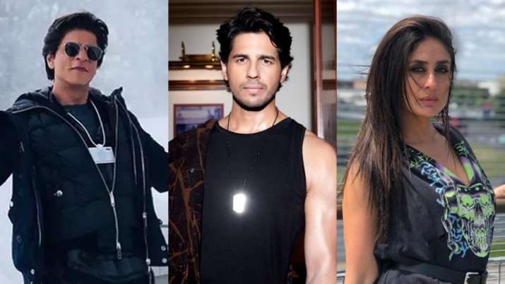 Sidharth Malhotra, Shah Rukh Khan, Kareena Kapoor in one word