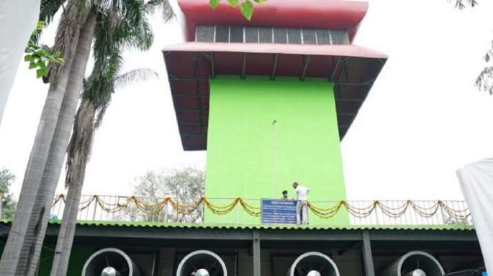 Connaught Place smog tower will start working at full capacity from Oct 1
