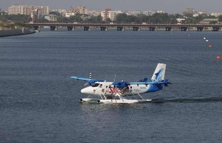 First seaplane service between Varanasi, Varanasi gorakhpur first seaplane services, Uttar pradesh y