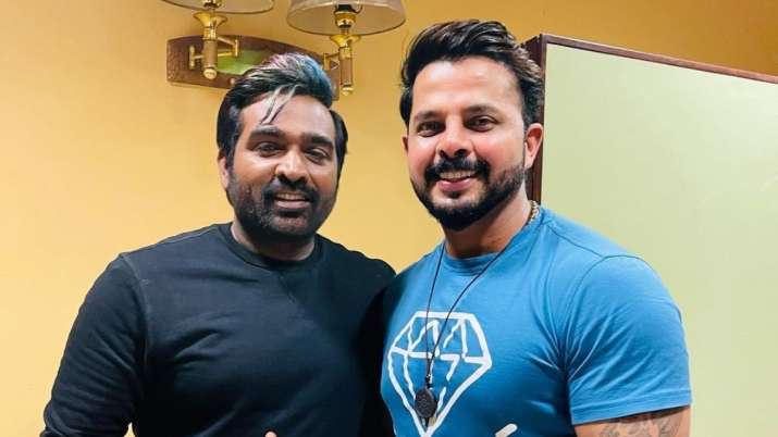 Sreesanth shares pictures with actor Vijay Sethupathi; fans ask if the two are collaborating