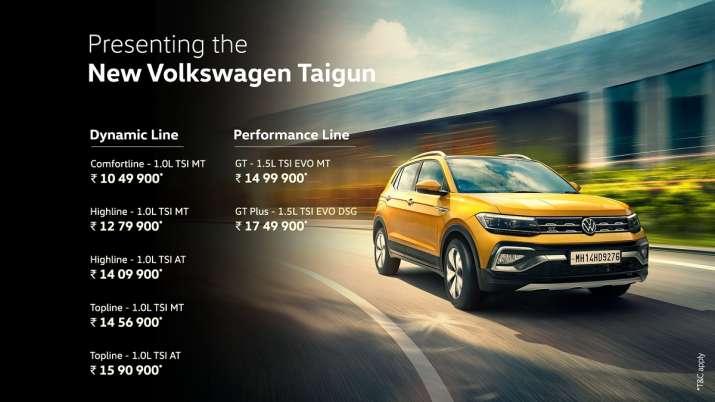 volkswagen taigun,taigun,taigun price,vw taigun,volkswagen taigun price