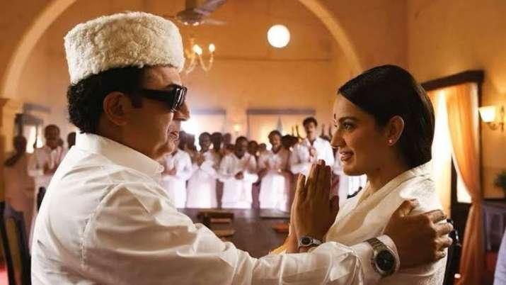 Kangana Ranaut's Thalaivii Box Office Collection Day 1